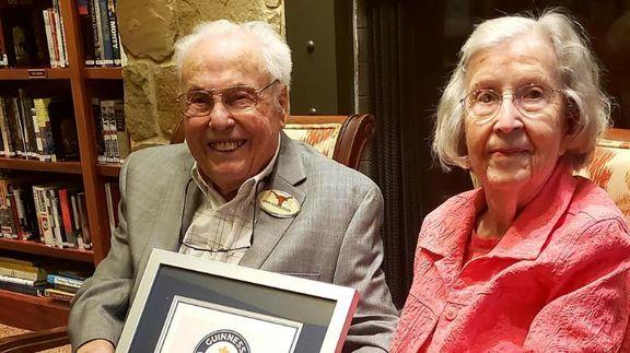 پیرترین زوج جهان +عکس