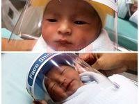 نوزادان تازه متولد شده در زمان همه گیری کرونا +عکس
