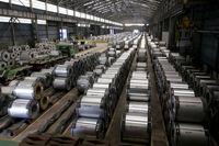 عرضه بیش از ۵۶ هزار تن فولاد و آلومینیوم در تالار محصولات صنعتی و معدنی