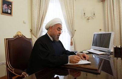 پیام رییس جمهور به مناسبت درگذشت آیت الله هاشمی رفسنجانی