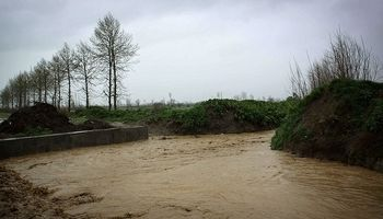 روستاهای در معرض خطر سیلاب در حوضه کرخه