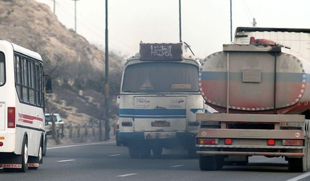 طرح مقابله با خودروهای آلاینده در البرز تشدید شد