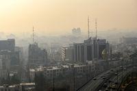 آلودگی هوا مهمان دوباره البرزیها