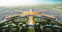 افتتاح فرودگاه بزرگ پکن +فیلم