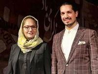 تصویری که مهناز افشار از همسر و دخترش منتشر کرد