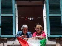 جشن آزادی در قرنطینه +عکس
