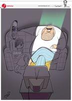 مرد خانواده از نگاه تلویزیون!