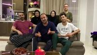 بازیگران پایتخت، بهبود فریبا را با جشن تولد غافلگیر کردند +عکس