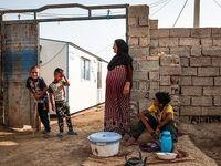 زندگی مردم روستای حمدان سلجه ۵ماه پساز سیل +عکس