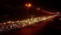ترافیک سنگین در مسیر بازگشت زوار