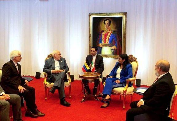 رایزنی ظریف با معاون اول رییسجمهور ونزوئلا