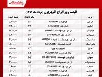 قیمت روز تلویزیون (۱۳۹۹/۵/۲۷)