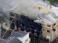 آتشسوزی عمدی در استودیوی انیمیشنسازی ژاپن قربانی گرفت +فیلم