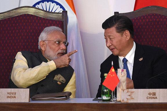 تاجران هندی خواستار آتش زدن کالاهای چینی شدند