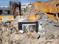 روستاهای زلزله زده قطور پس از یک هفته +عکس