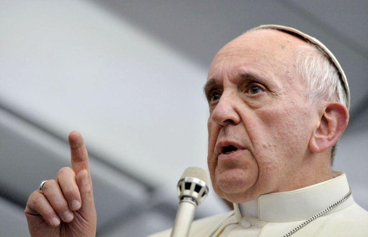 اسکورت جالب  پاپ فرانسیس  در عراق!