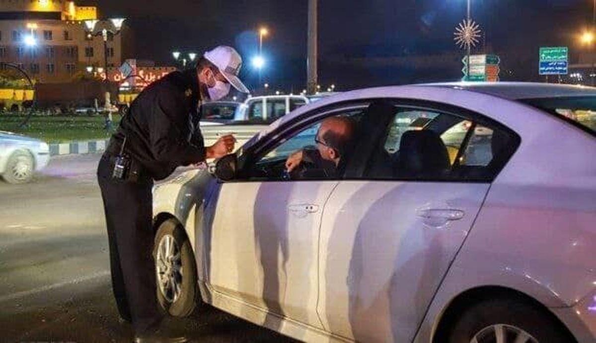 توقیف خودروهای متخلف چهارشنبه سوری تا ۱۵فروردین