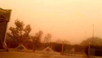 غلظت گردوغبار در ماهشهر به 22برابر حد مجاز رسید