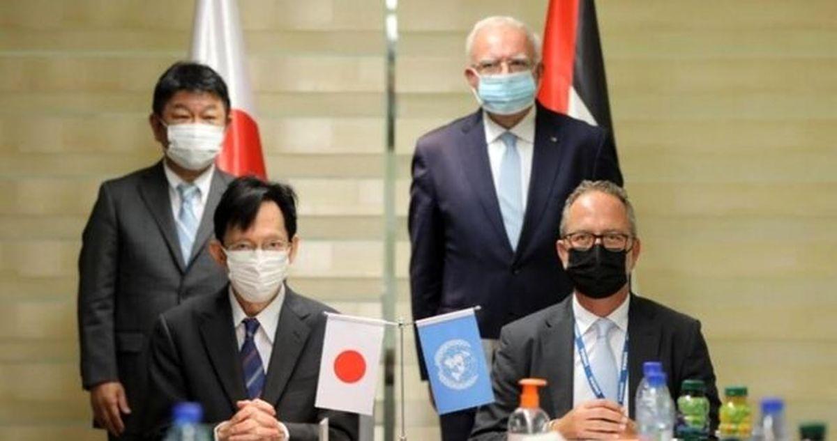 ژاپن ۳.۷ میلیون دلار به غزه کمک کرد
