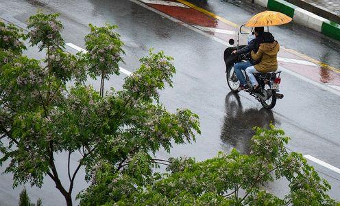 افزایش ۱۱درصدی بارش در پایتخت