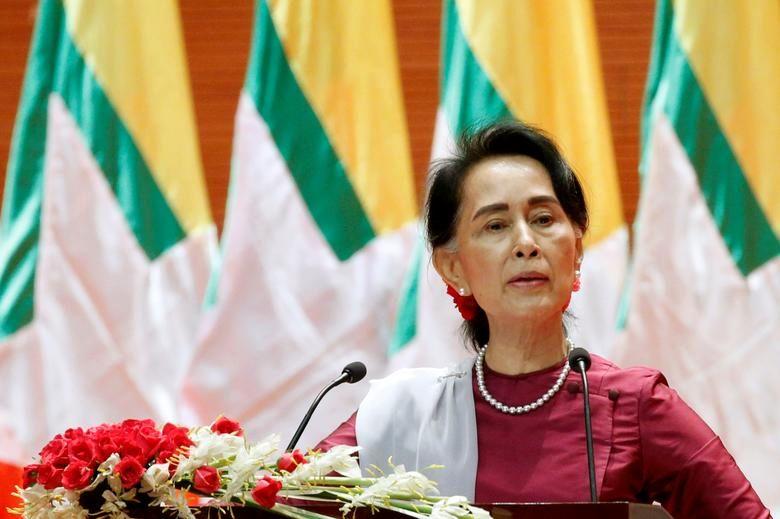زن رهبر جهان میانمار