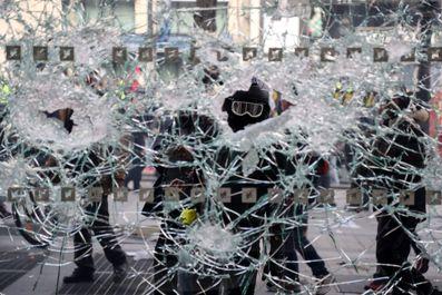 اعتراضات جلیقه زردها به هفته هجدهم رسید