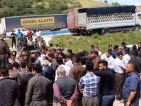 اعتصاب اجباری کامیونداران
