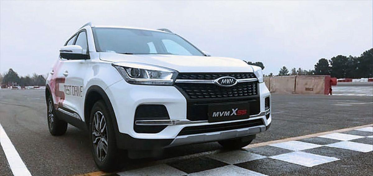 قیمت ام وی امX55 توسط مدیران خودرو مشخص شد