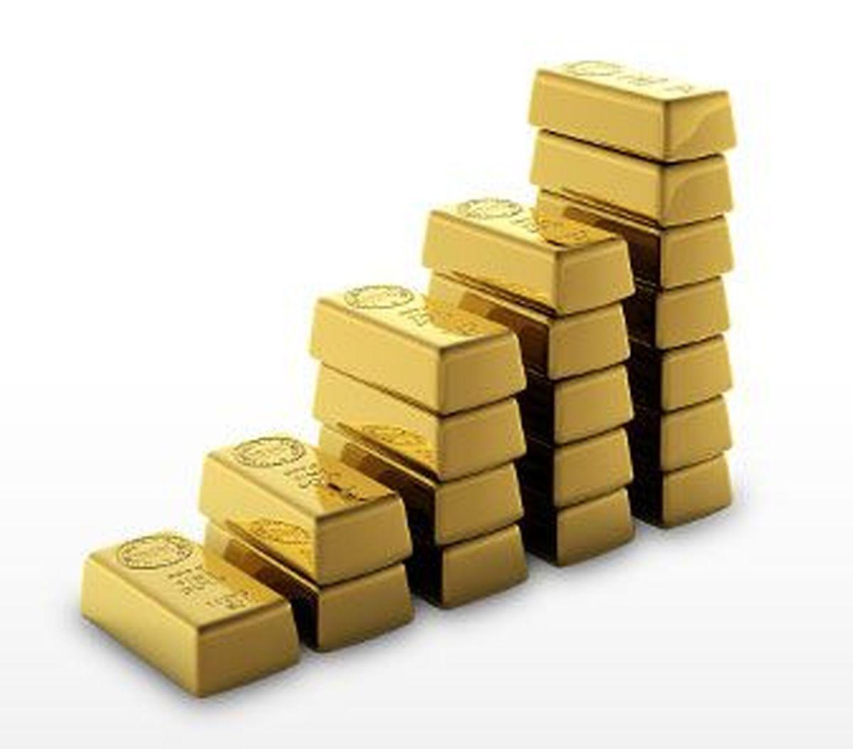 کاهش 4 دلاری قیمت طلا