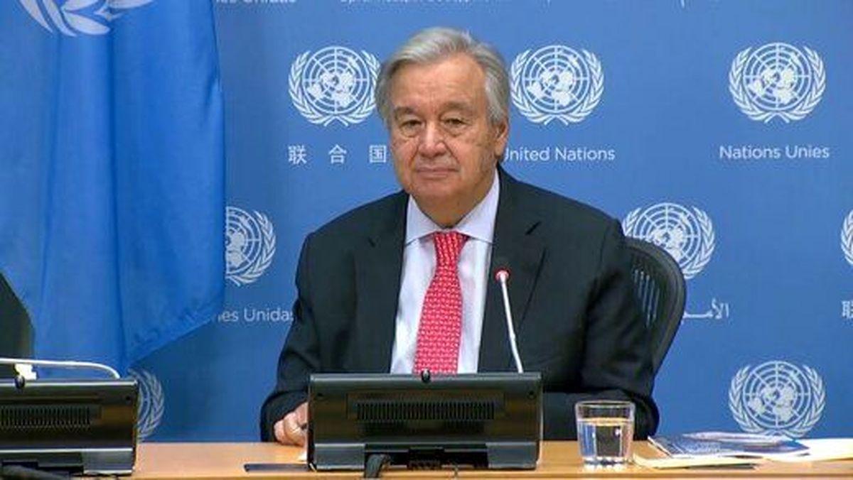 گوترش دبیرکل سازمان ملل باقی می ماند