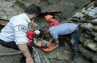 پنج کشته در حادثه انفجار پروژه آبگرم میناب +عکس