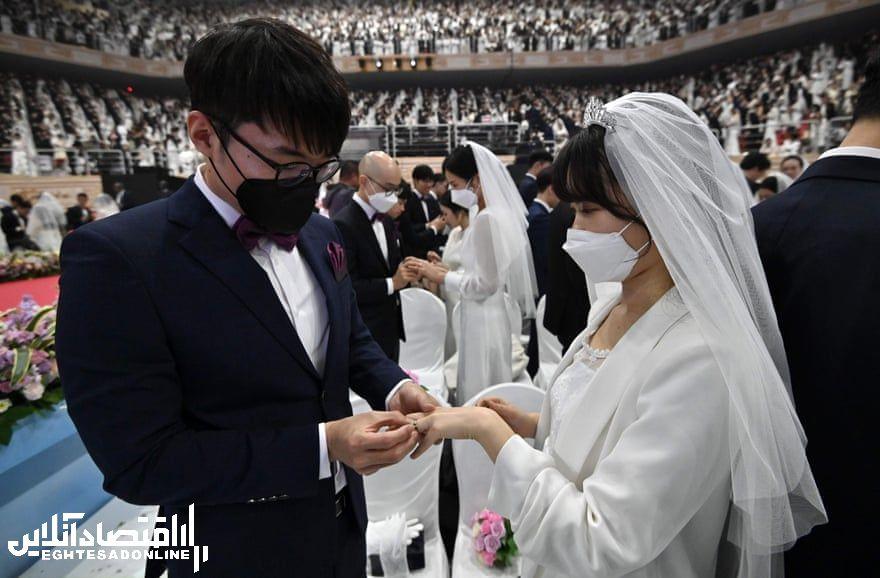 عروسـی زیر سایه کـرونا