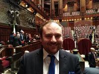 خواستگاری وسط جلسه پارلمان در ایتالیا!