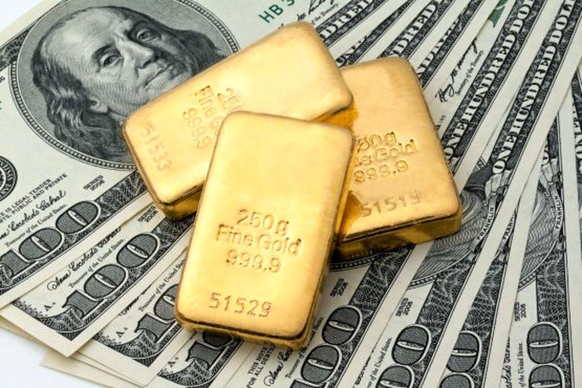 قیمت طلا ۱۰دلار افزایش یافت