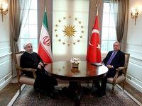دیدار روسای جمهوری ایران و ترکیه +تصاویر