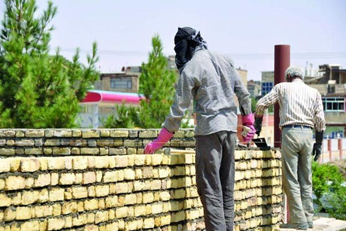شرایط دشوار زندگی کارگران ساختمانی