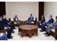 بشار اسد: سوریه در برابر هر تهدیدی کنار ایران میایستد