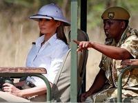 تصاویر سفر ملانیا ترامپ به کنیا