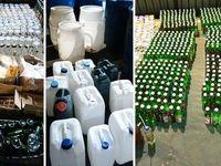 کشف ۶ هزار لیتر مشروب توسط سپاه +تصاویر