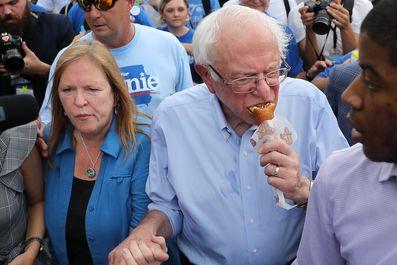 تصاویری جالب از نامزدهای حزب دموکرات انتخابات آمریکا