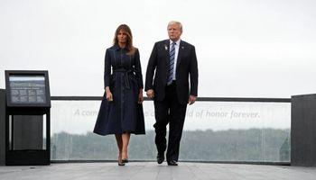 پالتوی ملانیا ترامپ مردم آمریکا را خشمگین کرد +عکس