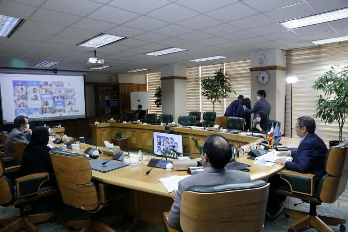 برگزاری جلسه گروه ۲۴ به ریاست همتی +عکس