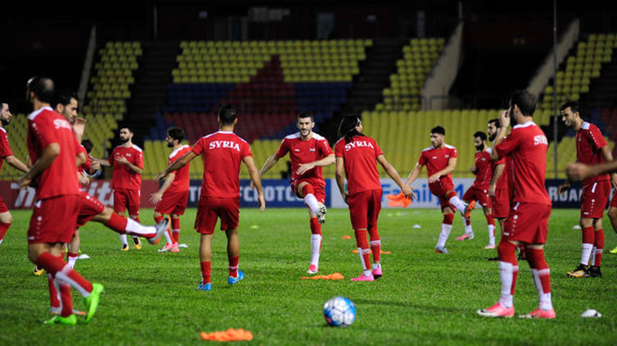 موافقت AFC با درخواست فدراسیون فوتبال سوریه