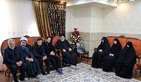 دیدار رئیسی با خانواده سردار شهید سلیمانی به روایت تصویر