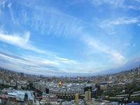 آسمان امروز کربلای معلی +عکس