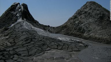 Mud volcanoes of Gobustan_ Azerbaijan