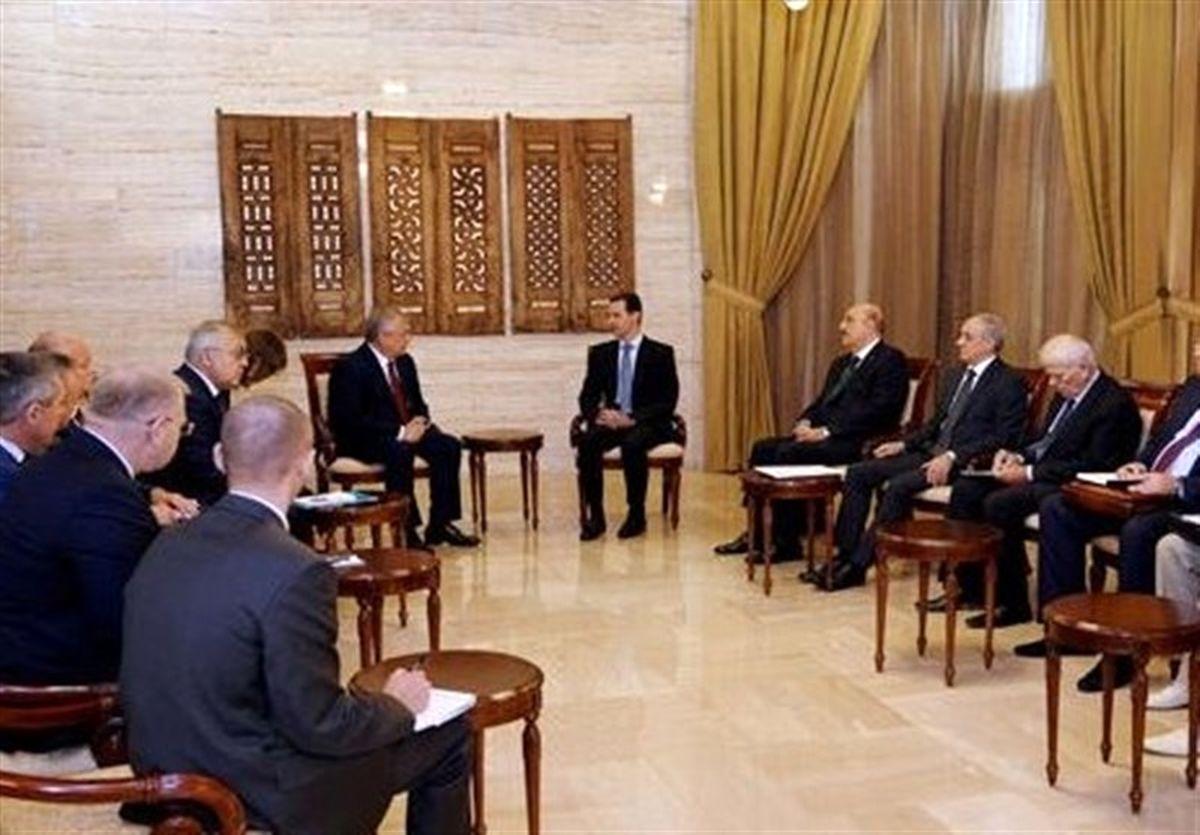دیدار نماینده ویژه پوتین با اسد