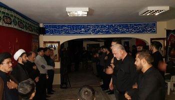 برگزاری مراسم عزاداری حضرت سید ااشهدا علیه السلام در بلاروس