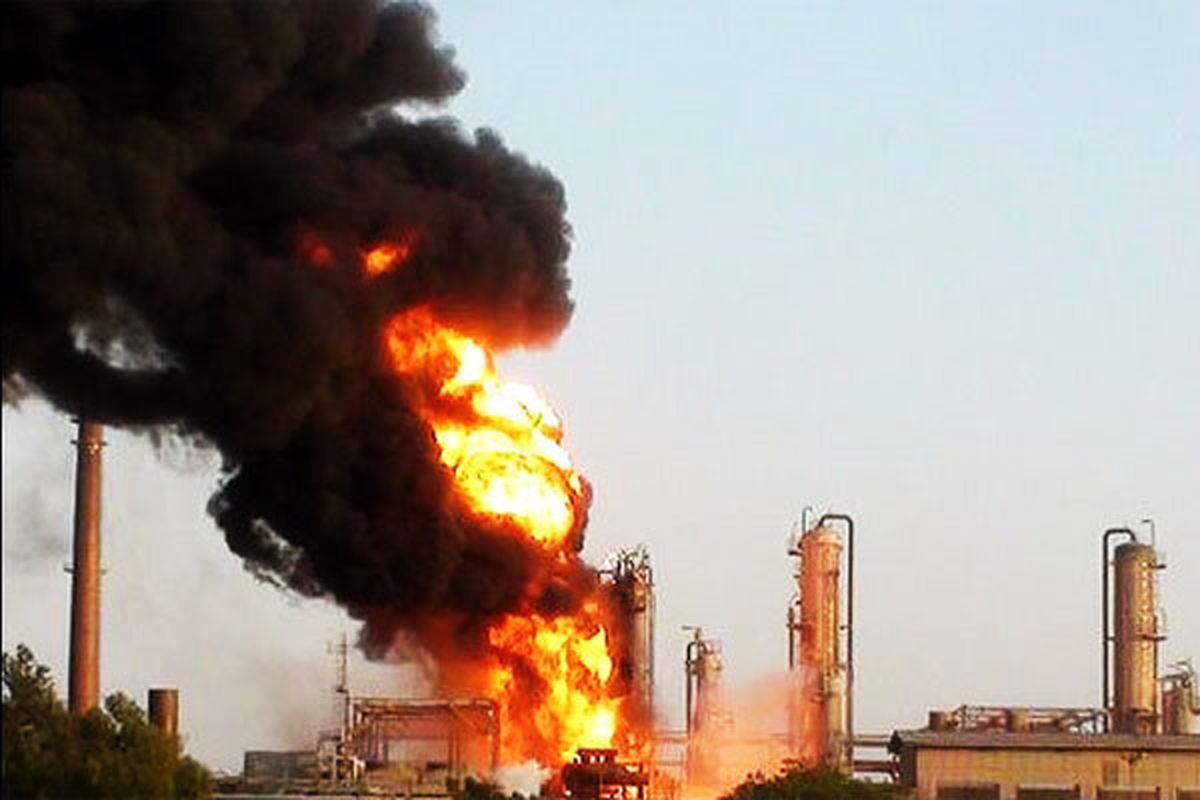 ۳کشته در آتشسوزی پالایشگاه نفت کردستان عراق