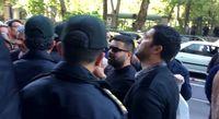 اعتراض پیمانکاران طلبکار مقابل شورای شهر تهران +فیلم